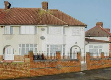 Thumbnail 4 bedroom semi-detached house for sale in Monks Park, Wembley