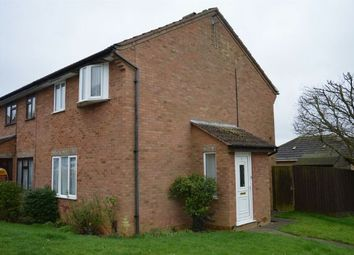 Thumbnail 3 bedroom end terrace house for sale in Verwood Close, Watermeadow, Northampton
