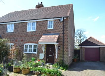 Thumbnail 4 bed semi-detached house for sale in Rutherford Close, Highclere, Newbury