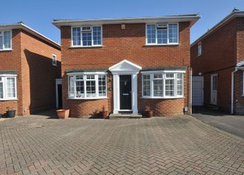 Thumbnail 4 bed detached house for sale in Tudor Way, Church Crookham, Fleet
