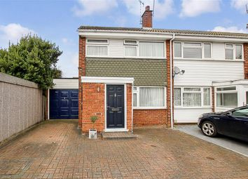 Thumbnail 3 bed end terrace house for sale in Lilac Close, Pilgrims Hatch, Brentwood, Essex