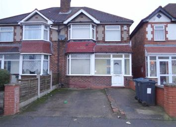 Thumbnail 3 bedroom semi-detached house for sale in Stechford Road, Hodge Hill, Birmingham