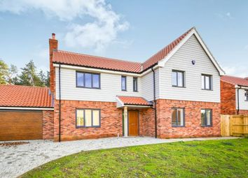 Thumbnail 5 bed detached house for sale in Fernhill, Blackborough End, Kings Lynn
