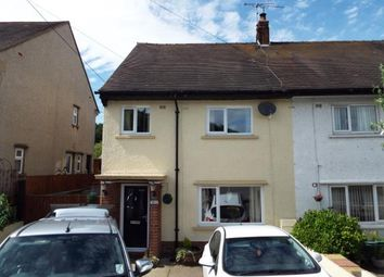 Thumbnail 3 bed semi-detached house for sale in Erw'r Fron, Ruthin Road, Gwernymynydd, Mold