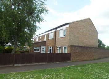 Thumbnail 4 bed end terrace house for sale in Western Close, Letchworth Garden City, Hertfordshire, England