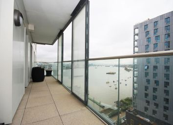 Thumbnail 2 bed flat for sale in Barge Walk, North Greenwich