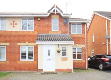 Thumbnail 4 bed semi-detached house for sale in Westbury Close, Halewood, Liverpool