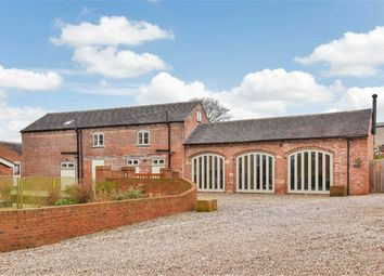 Thumbnail 4 bed barn conversion for sale in Queen Marys Drive, Stoke-On-Trent, Staffordshire