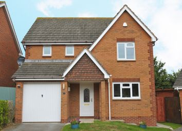 Thumbnail 3 bed detached house to rent in Eager Way, Exminster, Exeter