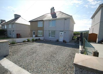 Thumbnail 2 bed semi-detached house for sale in Pentrefelin, Amlwch