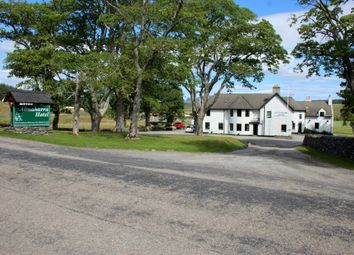 Thumbnail Leisure/hospitality for sale in Altnaharra Hotel, Altnaharra, By Lairg, Sutherland
