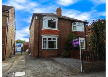 Thumbnail 2 bed semi-detached house for sale in Stooperdale Avenue, Darlington