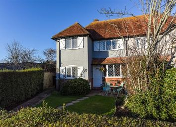 Thumbnail 2 bed semi-detached house for sale in Oakfield Avenue, East Wittering, Chichester
