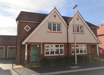 Thumbnail 3 bedroom semi-detached house for sale in Larkspur Drive, Highweek, Newton Abbot, Devon.