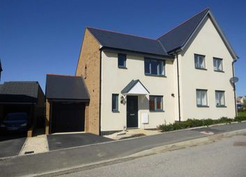 Thumbnail 3 bed semi-detached house to rent in Shorelark Way, Bude, Cornwall