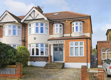 Thumbnail 5 bed semi-detached house to rent in Landra Gardens, Grange Park, London