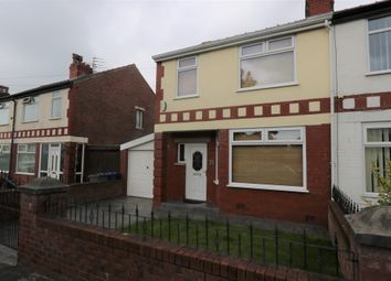 Thumbnail 3 bed semi-detached house to rent in Knaresboro Avenue, Blackpool