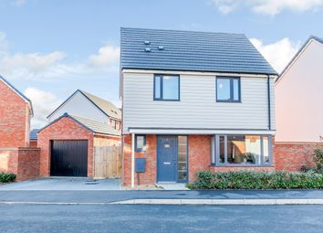 Thumbnail 3 bed detached house for sale in Lunniss Way, Wootton, Bedfordshire