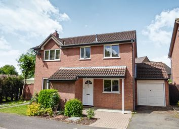 Thumbnail 4 bed detached house for sale in Icknield Drive, West Hunsbury, Northampton