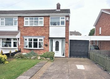 Thumbnail 3 bed semi-detached house for sale in Bradford Road, Immingham