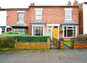 Thumbnail 2 bed terraced house to rent in Gordon Road, Harborne