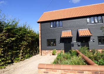Thumbnail 2 bed semi-detached house for sale in Meadow Court, Stanton, Bury St. Edmunds