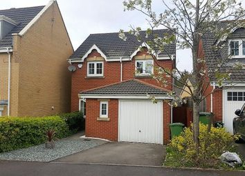 Thumbnail 3 bed detached house for sale in Bryn Dewi Sant, Miskin, Pontyclun