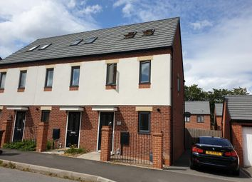 Thumbnail 3 bed end terrace house to rent in Coningsby Drive, Wolverhampton