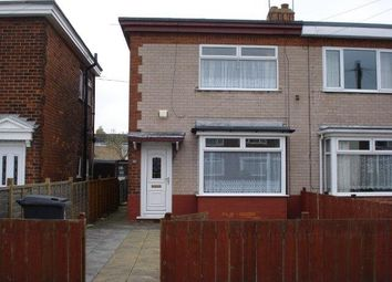 Thumbnail 2 bed semi-detached house to rent in Cradley Road, Hull