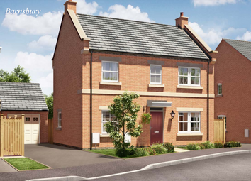 Thumbnail 4 bed detached house for sale in Barnsbury. Heanor Road, Smalley, Ilkeston, Derbyshire