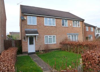Thumbnail 3 bed semi-detached house for sale in Foxes Close, Verwood