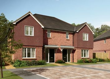 "Thumbnail 3 bedroom semi-detached house for sale in ""The Claremont"" at River Lane, Fetcham, Leatherhead"