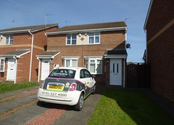 Thumbnail 2 bed semi-detached house to rent in Brunel Close, Hartlepool