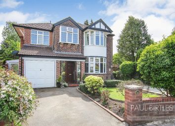 Thumbnail 4 bed detached house for sale in Sidmouth Avenue, Urmston, Manchester