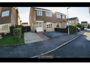 Thumbnail 3 bed semi-detached house to rent in Navisford Close, Northamptonshire