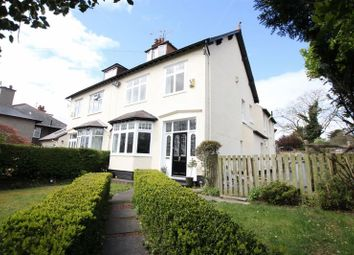 Thumbnail 5 bed semi-detached house for sale in Quarry Road West, Heswall, Wirral