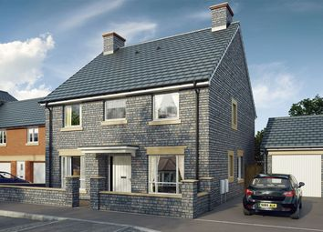 "Thumbnail 4 bed detached house for sale in ""The Yew"" at Mill Lane, Bitton, Bristol"