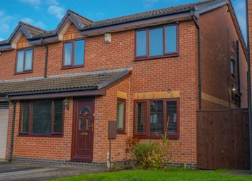 Thumbnail 3 bed semi-detached house for sale in Applegarth, Coulby Newham, Middlesbrough