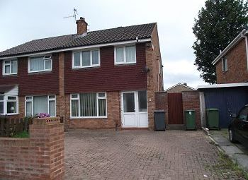 Thumbnail 3 bedroom semi-detached house to rent in Shavington Avenue, Prenton, Wirral