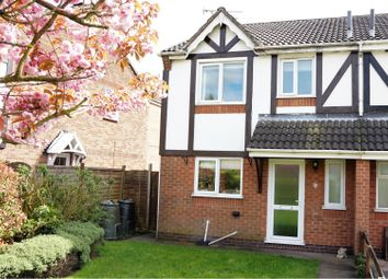 Thumbnail 4 bed semi-detached house for sale in The Chase, Markfield