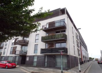 Thumbnail 1 bed flat to rent in Brittany Street, Plymouth