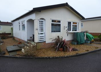Thumbnail 2 bed mobile/park home for sale in Rickwood Park, Horsham Road, Beare Green, Dorking, Surrey