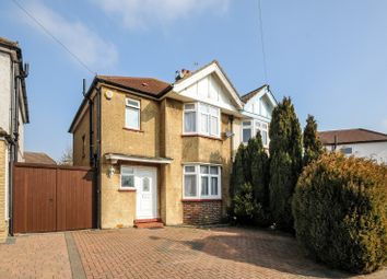 Thumbnail 3 bed semi-detached house to rent in Kingsmead Avenue, Tolworth, Surbiton