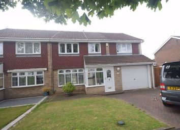 Thumbnail 4 bed semi-detached house to rent in Fennel Grove, South Shields
