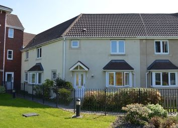 Thumbnail 3 bed terraced house for sale in Eden Croft, Weston Village, Weston Super Mare