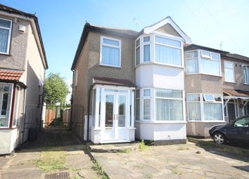 Thumbnail 3 bed end terrace house to rent in Amery Gardens, Gidea Park Romford