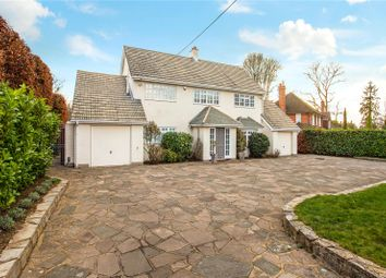 Thumbnail 4 bed detached house for sale in Miles Lane, Cobham, Surrey
