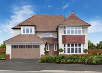 "Thumbnail 4 bed detached house for sale in ""Richmond"" at Deer Park Lane, Bassaleg, Newport"