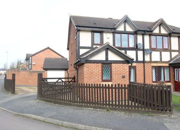Thumbnail 3 bedroom semi-detached house for sale in Ryder Road, Leicester