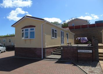 Thumbnail 2 bedroom mobile/park home for sale in Regent Avenue, Cambrian Residential Park, Culverhouse Cross, Cardiff
